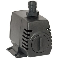 United Pump UP-270 Fountain Statuary Hydroponics & Pond Pump, 290 gph, Adjustable flow, mag drive, submersible or inline, 12' - Hours Drive International Outlet