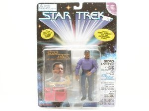 Star Trek Figure Playmates - Star Trek the Next Generation Geordi LaForge