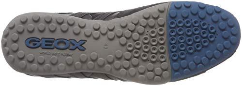 K D'octane Geox C9ah4 Grau Uomo Serpent Herren anthracite L'indice Chaussure De OqwrvIqxX6