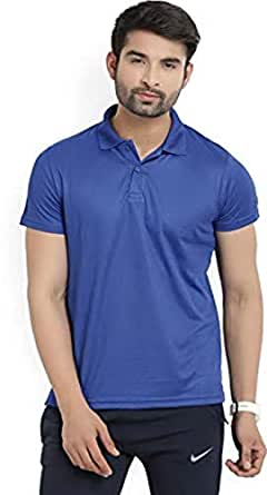 Lotto Polos T-Shirt for Men - Navy Blue