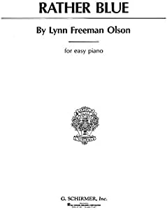 Ole Olson: Rather Blue. Partituras para Piano: Amazon.es