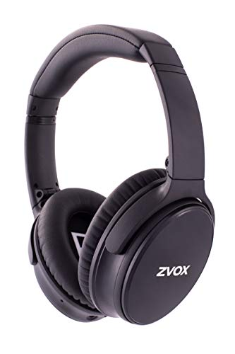 ZVOX AccuVoice AV50 Noise Cancelling Headphones Black