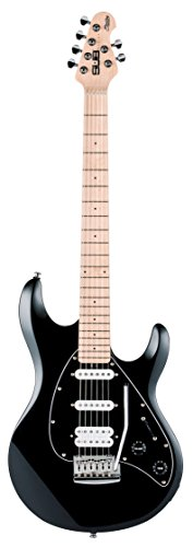 Sterling by Music Man S.U.B. Series Silo3 Silhouette Electric Guitar, Black by Sterling by Music Man