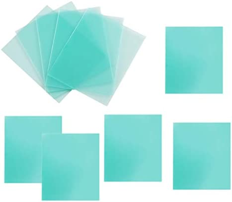 B Blesiya 10 pcs Ersatzscheiben Vorsatzscheiben Schutzscheiben Ersatzgl/äser 96x51mm
