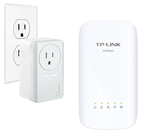 TP-Link AC750  Powerline Gigabit Wi-Fi Kit , 2-Kit (AC750) ()