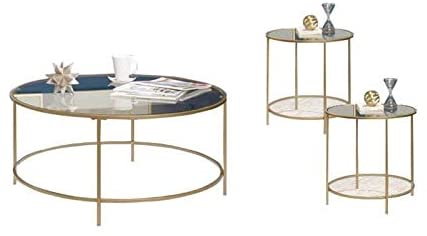 Home Square 3 Piece Coffee Table Set
