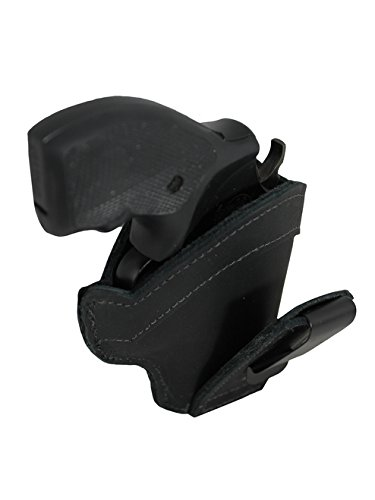New Barsony Black Leather Tuckable IWB Holster for ROSSI 461; 462 .357 right