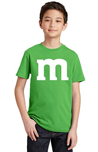 Promotion & Beyond M Halloween Team Costume Funny Party Youth T-Shirt, Youth L, Green