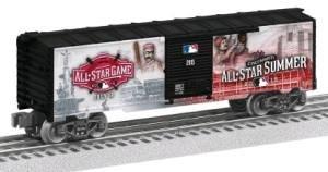 AGUE BASEBALL ALL STAR BOX CAR (Train Car Boxcar)