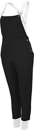 Urban Dance UD062 Womens Urban Dance Dungarees blk/wht S by Urban Dance