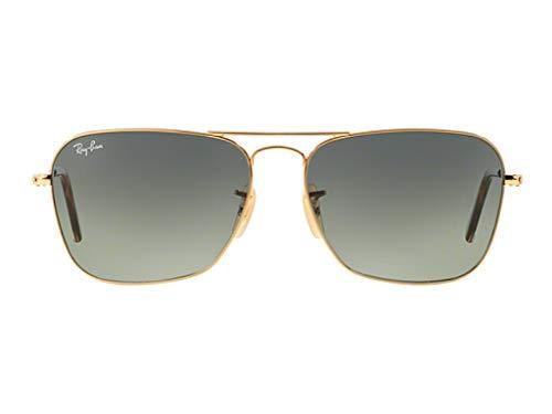Ray-Ban Caravan Gold Frame / Grey Gradient RB 3136 181/71 55mm ()