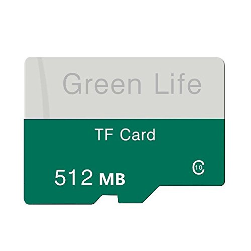 - TYCO Genuine New 512MB Green Life Micro TF Card Class10 Flash Memory Card for MP4
