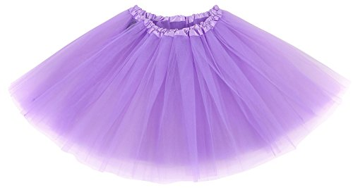 Women' Classic Elastic Adult Tutu Skirt Great Princess Tutu, Tulle, Lavender (Tutu Skirts Adults)