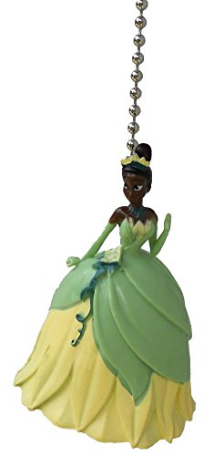 (Disney classic movie princess and the frog TIANA Ceiling FAN PULL light)