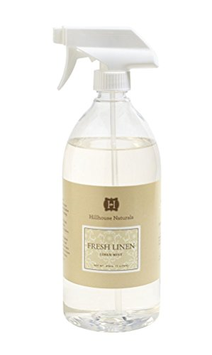 - Hillhouse Naturals Linen Mist 1 Liter - Fresh Linen