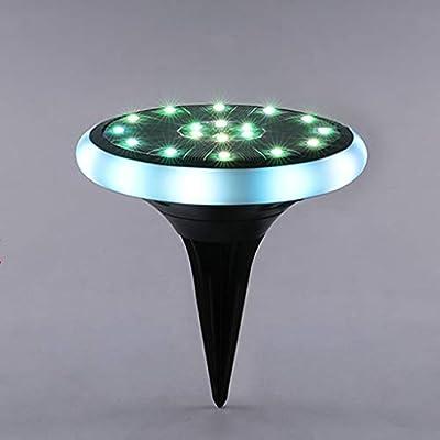 SGLI Luces Solares - Luces Enterradas Al Aire Libre Luces LED De ...