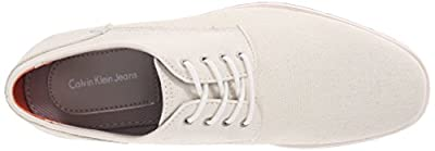 Ck Jeans Men's Adrian Waxy Canvas Oxford Shoe