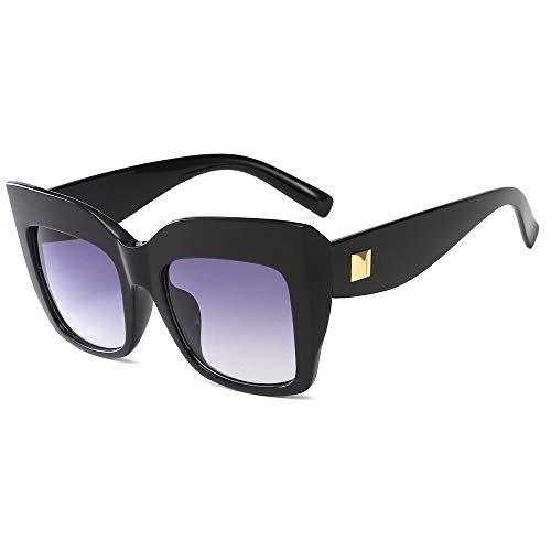 Yangjing-hl Europa y los Estados Unidos Big Box Gafas de Sol ...