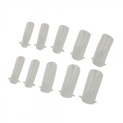 USA Seller 100 pcs Dual Nail System Form for UV Acrylic Tip Transparent Nails Art DIY Manicure Beauty Accessory Deco