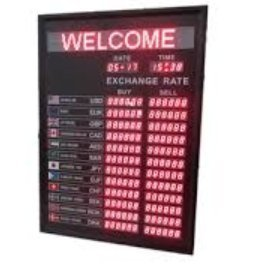 Digital Electronics Bank Interest Rate Display Board: Amazon in