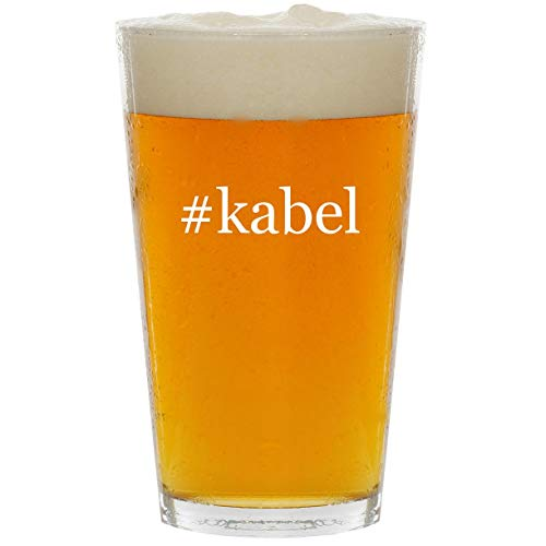 Price comparison product image #kabel - Glass Hashtag 16oz Beer Pint