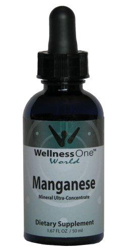 Марганец - Премиум жидких минеральных (100 дней в дозе 2 мг на 10 Падение порцию) бутылка 50 мл
