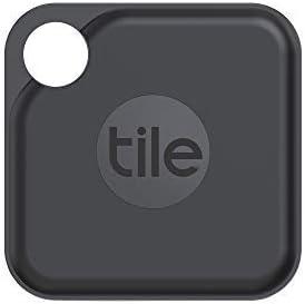 Tile Pro (2020) Lot de 1 localisateurs d'article Bluetooth, Noir/Blanc. Portée de...