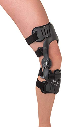 (Ossur CTi OTS Knee Brace Pro Sport Version - Maximum Support for ACL, MCL, LCL, PCL, Rotary and Combined Instabilities Injuries - for All Activity Levels (Medium, Left, Non PCL))