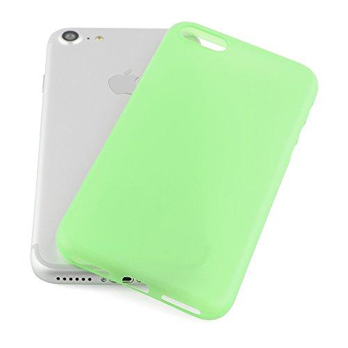 iPhone 7 Plus Hülle Ultra Thin Case Schutzhülle 5,5'' Zoll in aufregenden Farben grün - Idealer Schutz für Diamantschwarz Jet Black iPhone7 Plus