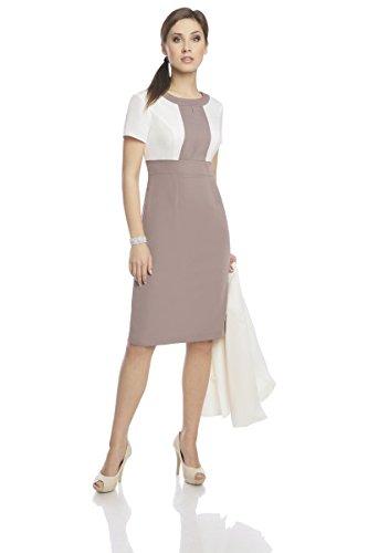 Elegantes Kleid Kostüm - Kleid mit Jacke, zweiteiliges Etuikleid mit ...