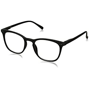 Peepers Unisex-Adult Main Event 2209250 Oval Reading Glasses, Gray