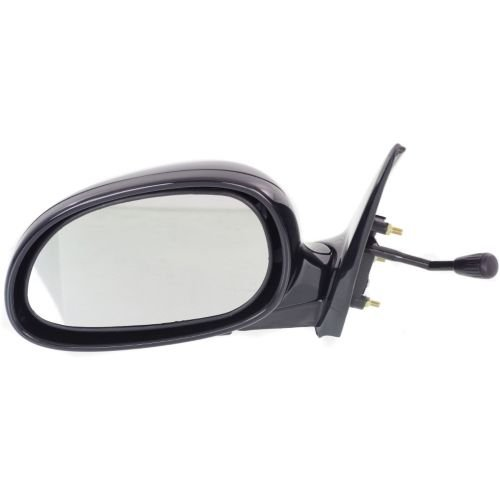 Make Auto Parts Manufacturing - CIVIC 92-95 MIRROR LH, Manual Remote, Non-Heated, Manual Folding, Paint to Match, Coupe/Hatchback - (Lh Manual Remote)