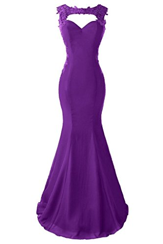 Purple Capped Sleeve Bodice - 2