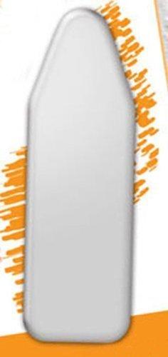 Copriasse da stiro forma universale cm140x50, grigio classico, imbottito con chiusura elastica per perfetta aderenza