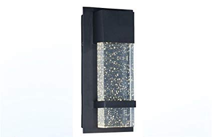 Amazon.com: Ciata Lighting - Aplique de pared con luz LED ...
