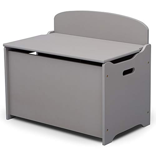 31FncIxQJNL - Delta Children MySize Deluxe Toy Box, Grey