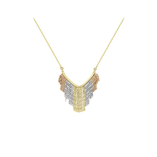 Carissima Gold - Collier - 375/1000 - Or tri colore - Femme - 46 centimeters