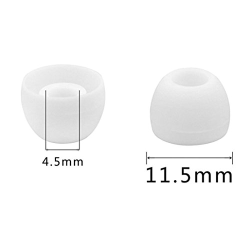 10 Pairs 20 Pieces Replacement Eargels Buds for Samsung Galaxy S8 /S8 Plus Earphones Earbuds ,Tuscom