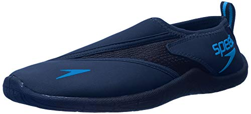 Speedo Men's Surfwalker Pro 3.0 Water Shoes, Navy/Blue, 11