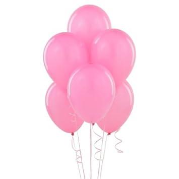 100 Globos Gigantes Rosa para Cumpleaños, Comunión, Boda y ...