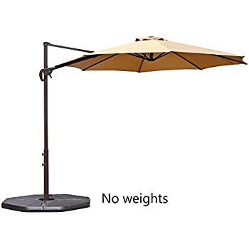 Amazon Com Coolaroo 10 Foot Round Cantilever