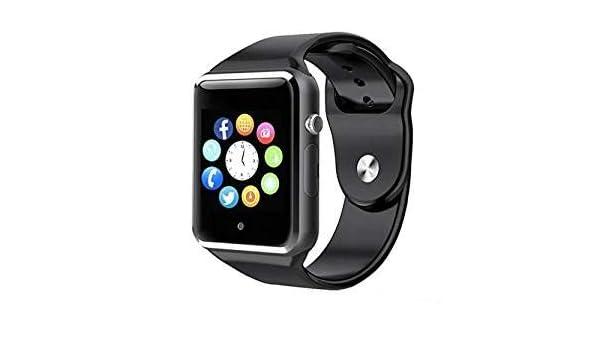 pcjob - Smartwatch A1 Bluetooth Negro con SIM gsm Reloj con ...