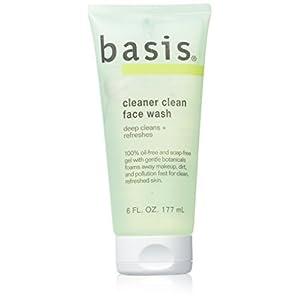 basis cleaner clean face wash 6 fl oz (177 ml)
