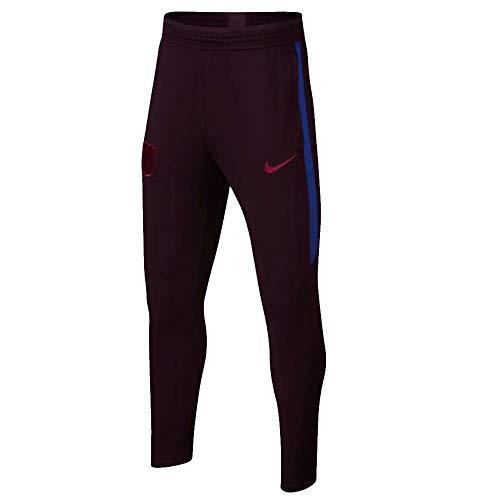 - Nike 2019-2020 Barcelona Training Pants (Burgundy) - Kids