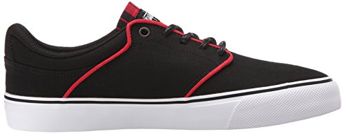 Dc Mens Mikey Taylor Vulc Signature Skate Shoe Burgundy 10 M Us Black plaid