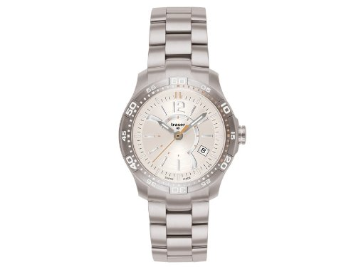 Traser H3 Ladytime Silver Ladies Watch T7392.256.G1A.08 / 100273