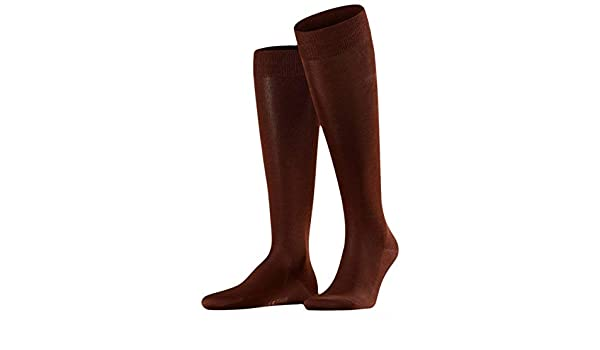 e0cfb5fb1aa Falke Mens Tiago Knee High Socks - Acacia Brown at Amazon Men s Clothing  store