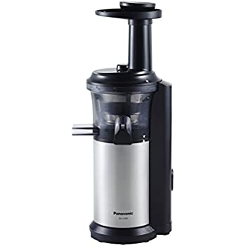 Panasonic Slow Juicer Bpa Free : Amazon.com: Panasonic MJ-L500 Slow Juicer with Frozen Treat Attachment, Black/Silver: Kitchen ...