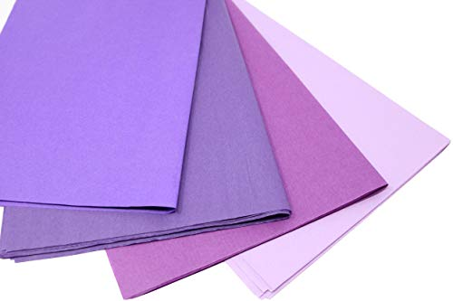 (Purple Mix 1 - Gift Wrapping Tissue Paper - 96 Sheets 15