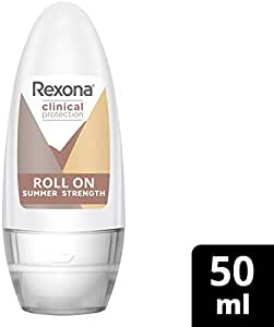 Rexona Clinical Protection Antiperspirant deodorant Roll On Summer Strength, 50ml
